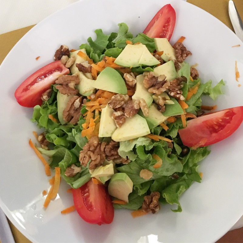 Avocado-Walnuss-Salat