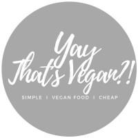 Yay-That´s Vegan?!!